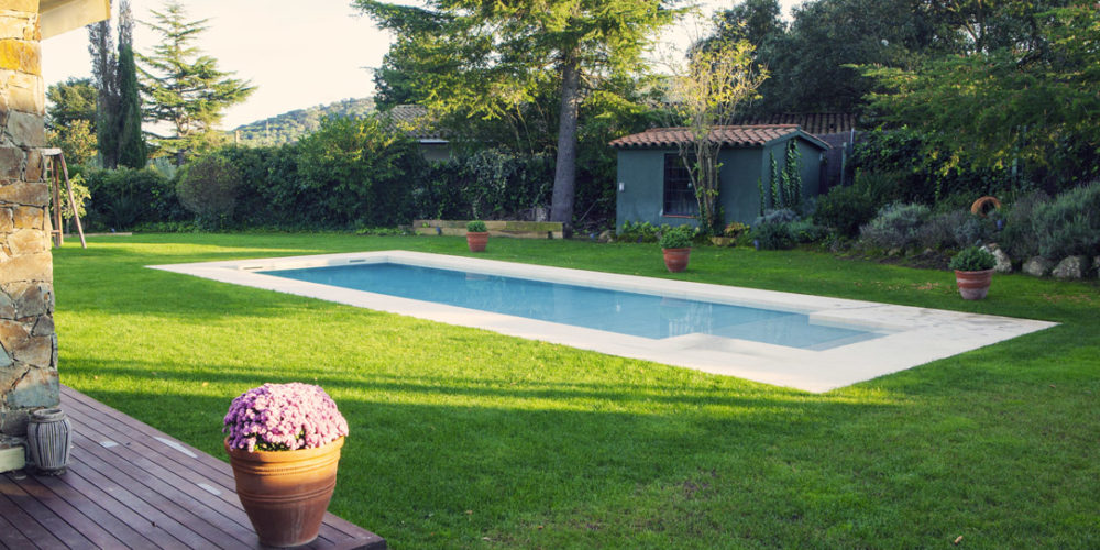 rehabilitación de piscina en Santa Cristina d'Aro